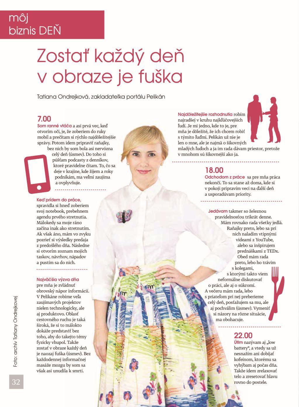 tatiana ondrejkova pelikan hn magazin