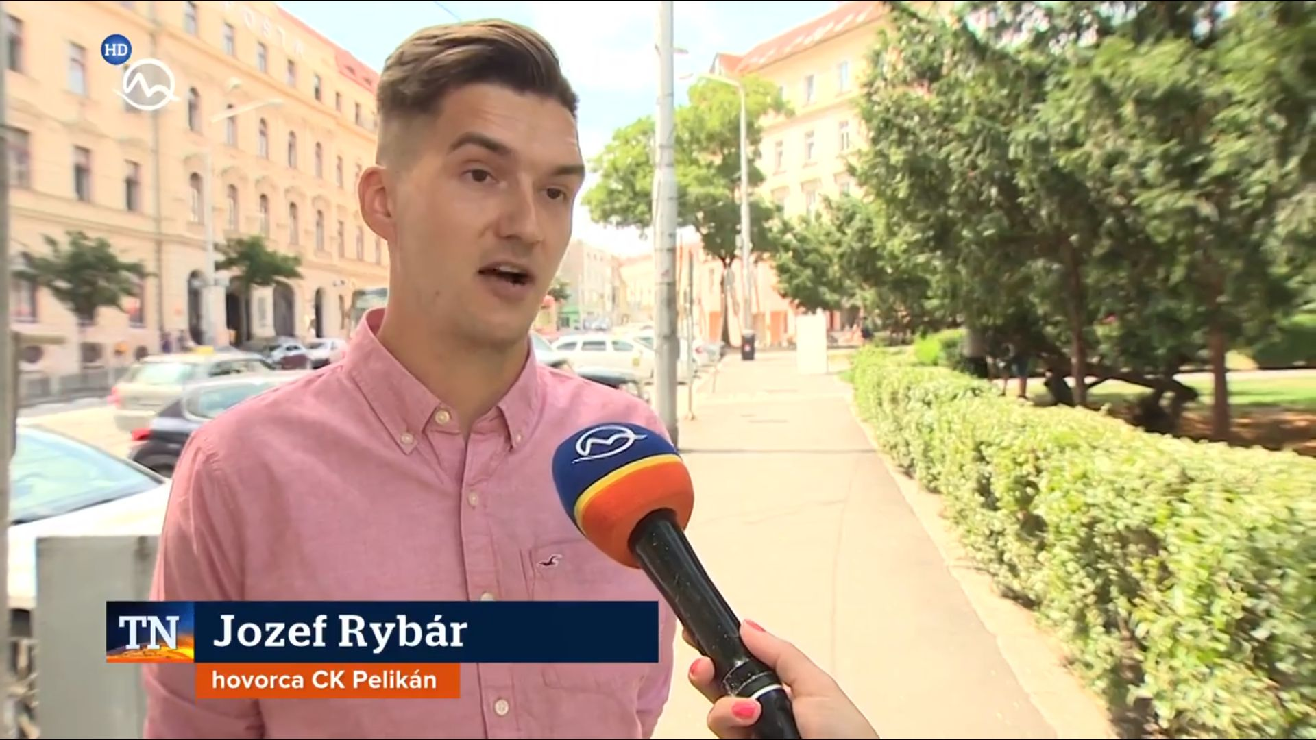 jozef rybar pr manager cestovna kancelaria pelikan televizne noviny markiza